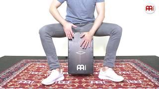 MEINL Percussion - MEINL Percussion - Artisan Edition Cajon - Soleá Line - Ebony Burst - AESLEYB