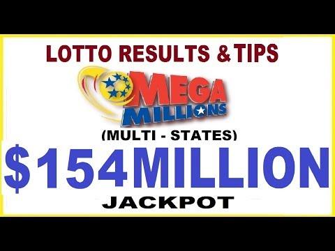 Mega Millions Lottery Results & Tips $ 154 Millions Jackpot - September 10, 2019