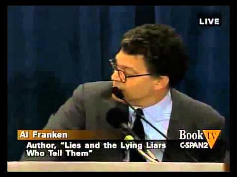 "Bill O'Reilly clashes with Al Franken ""SHUT UP!"" 1/2"