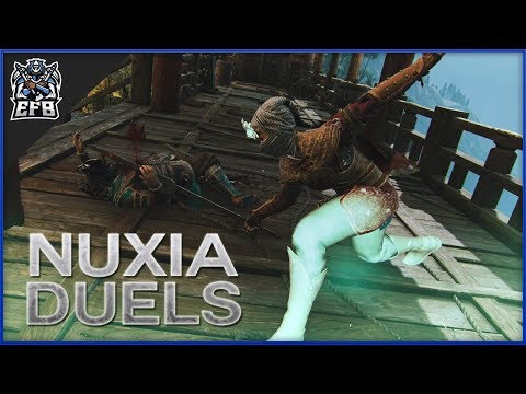 For Honor - Peacekeeper With Traps?   Nuxia Duels