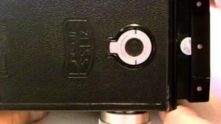 """Zeiss-Ikon Ikoflex """"Favorit"""" with Tessar lens"""