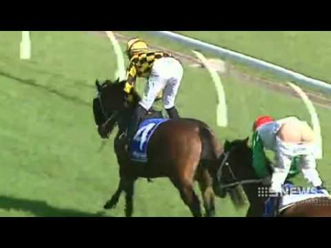 Jockey caught with his pants down