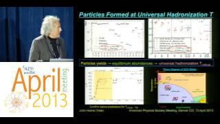 Creating the Primordial Quark-Gluon Plasma at the LHC - John W. Harris