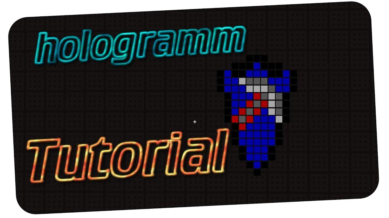 Minecraft Hologramm
