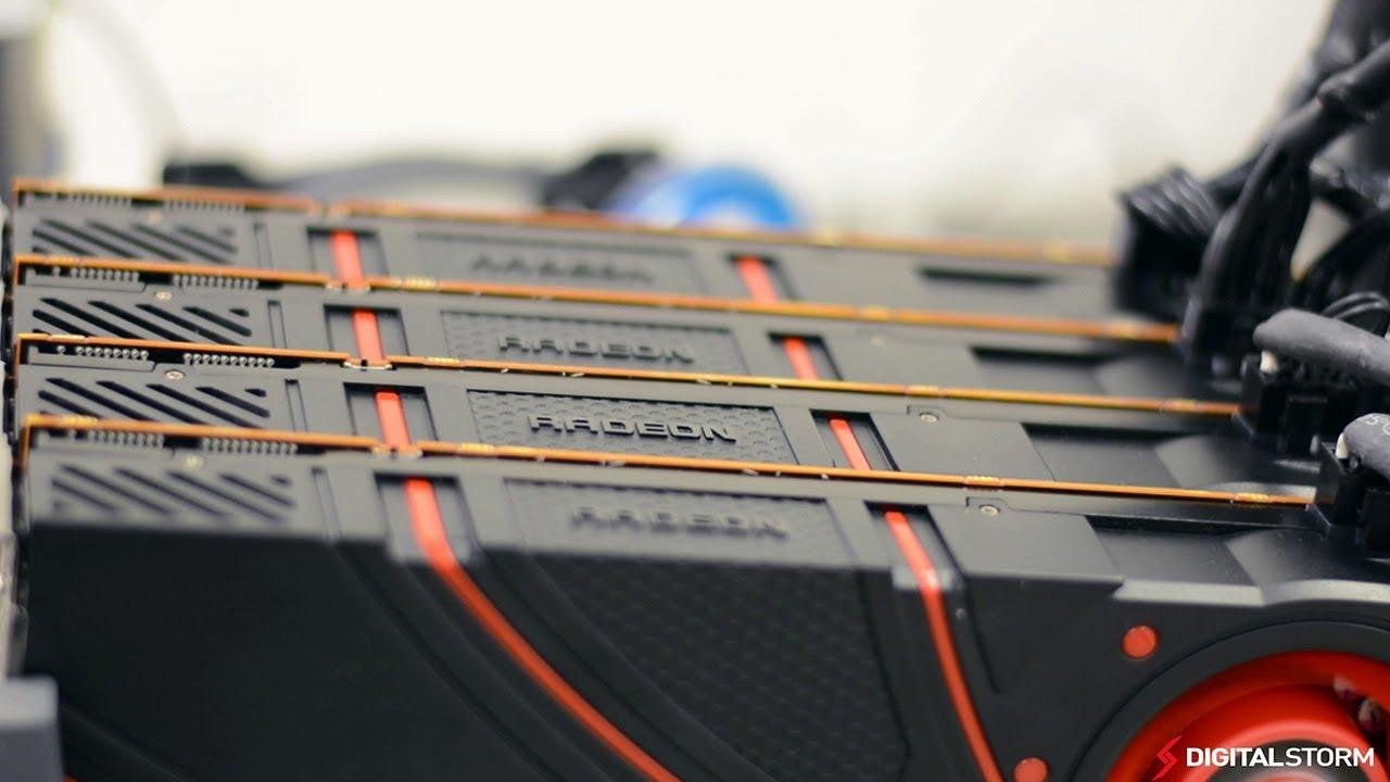 AMD R9 290X 2x, 3x, 4x CrossFire 4k Resolution Overclocking