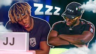 KSI sleeping for 3 minutes straight
