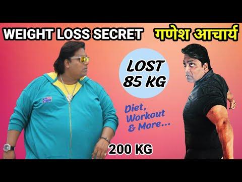 Ganesh Acharya Weight Loss Story | Diet Plan | Interview | Transformation | Motivation