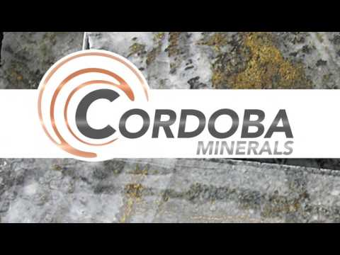 Joe Mazumdar on Cordoba Minerals