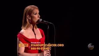 Celine Dion Recovering   Stand Up 2 Cancer