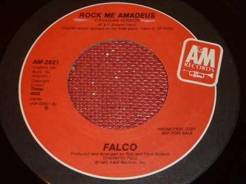Falco  Rock Me Amadeus Canadian Version 45rpm