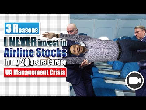3 Reasons I NEVER INVEST in Airline Stocks for 20 years (UA Crisis Business Angle) | Investing 101