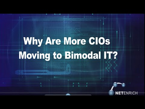 Why Are More CIOs Moving to Bimodal IT?