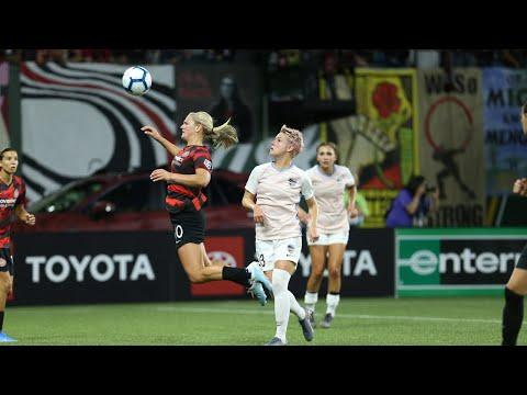 Lindsey Horan | Thorns FC 5, Houston Dash 0 | July 24, 2019