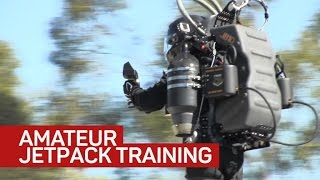 Amateurs are flying real-life jetpacks now, nbd