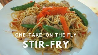 Incredible Stir-Fry On The Blackstone Griddle - Easy as 1, 2, 3