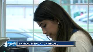 FDA recalls Thyroid medications