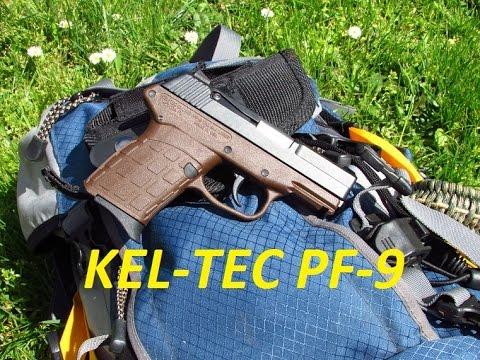 My new light weight backpacking 9mm pistol, Kel-Tec PF-9