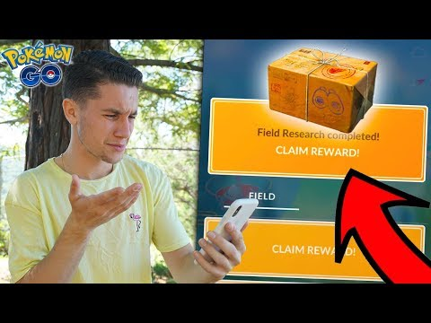 I Can't Believe This… RESEARCH BREAKTHROUGH BOX in Pokémon Go!