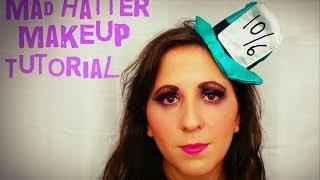 Halloween: Mad Hatter Makeup Tutorial Thumbnail