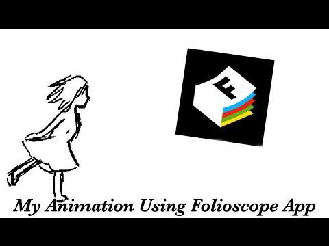My Short Animations | Ice-skating, Eating, etc (Folioscope App)