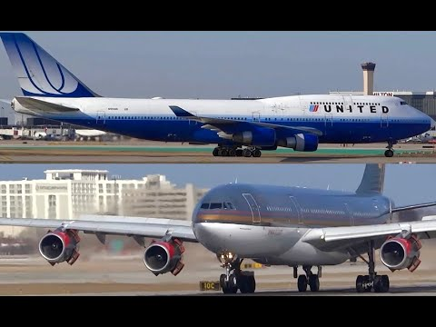 (HD) Late Afternoon HD Planespotting - Chicago O'Hare International Airport