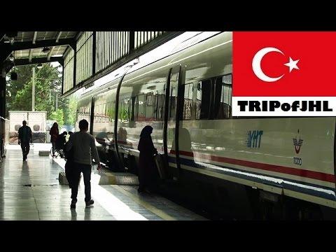 [TRIPofJHL] Traveling on a train from Ankara to Eskişehir