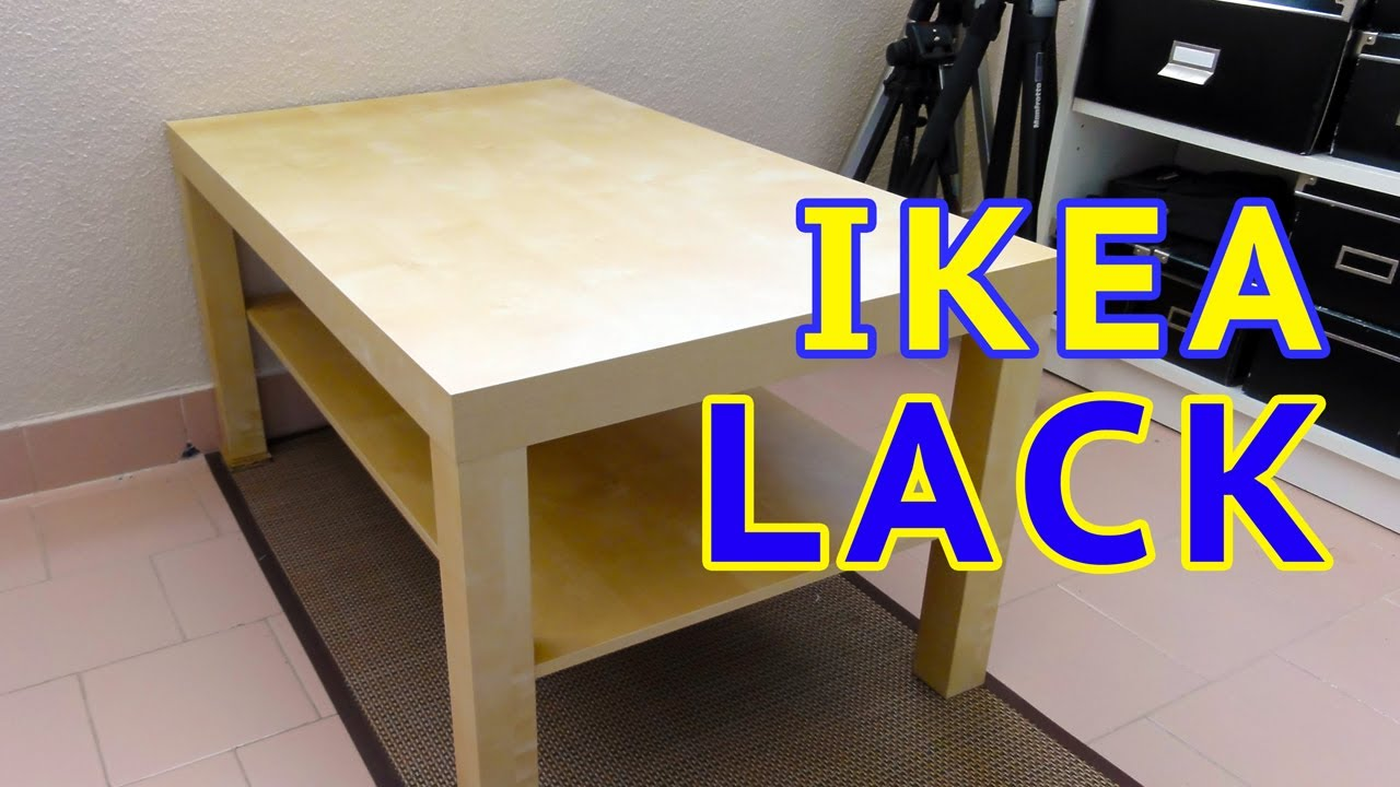 Lack Sofa Table As Desk Clearance Beds For Sale Ikea Time Lapse Youtube