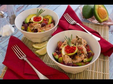 دجاج بصوص المشروم والكاري + سلطة دجاج بالفاصوليا الحمراء - برنامج الكوكو ج2