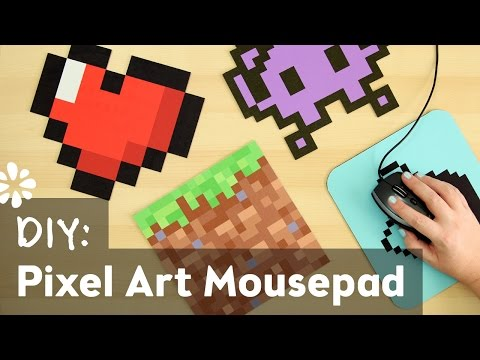 DIY Pixel Art Mouse Pad