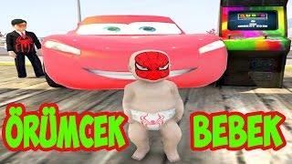 Örümcek Çocuk Geldi Örümcek Bebek Lunaparka Gitti (GTA 5 Komik Anlar)