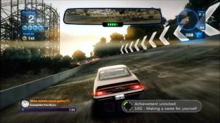 Blur Gameplay[ULTRA HD]: Proving Grounds - Barcelona Oval