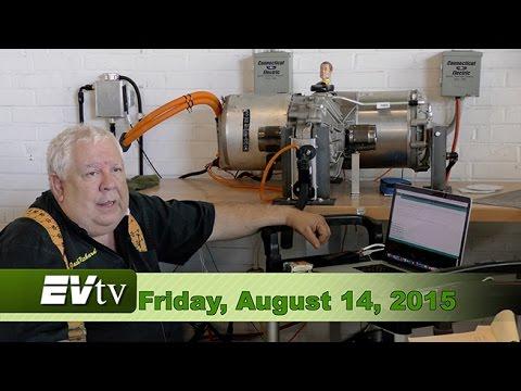EVTV Friday Show - Tesla Model S Drive Unit HACKED
