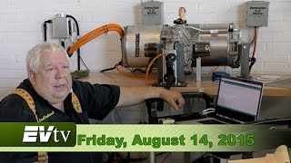 EVTV Friday Show - Tesla Model S Drive Unit HACKED