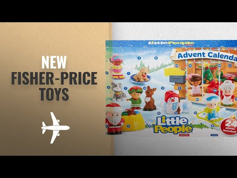 Hot New Toys From Fisher-Price October 2018: Fisher-Price Little People Advent Calendar