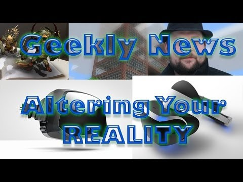 "Geekly News - Oculus rift facebook deal, Sony ""project morpheus"", Diablo 3 reaper of souls,"