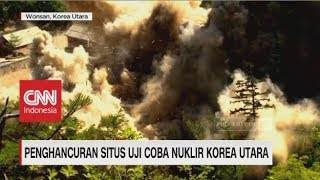 Penghancuran Situs Uji Coba Nuklir Korea Utara