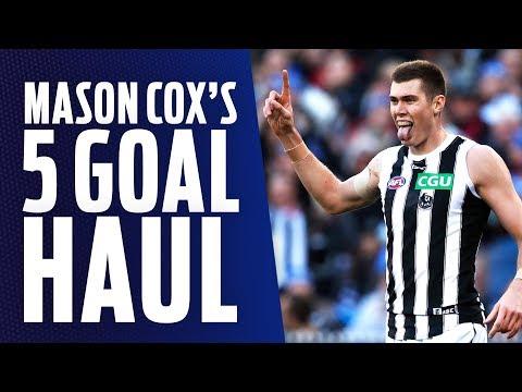 Cox bags five goals on Queens Birthday | Showreel | Round 12, 2018 | AFL