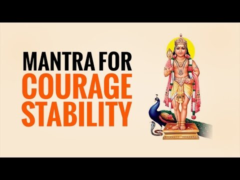 Kartikeya mantra for courage, stability resolve enmity, win over people, defeat enemies