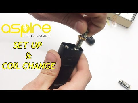 How To Set Up & Change Coil Aspire Breeze Vape