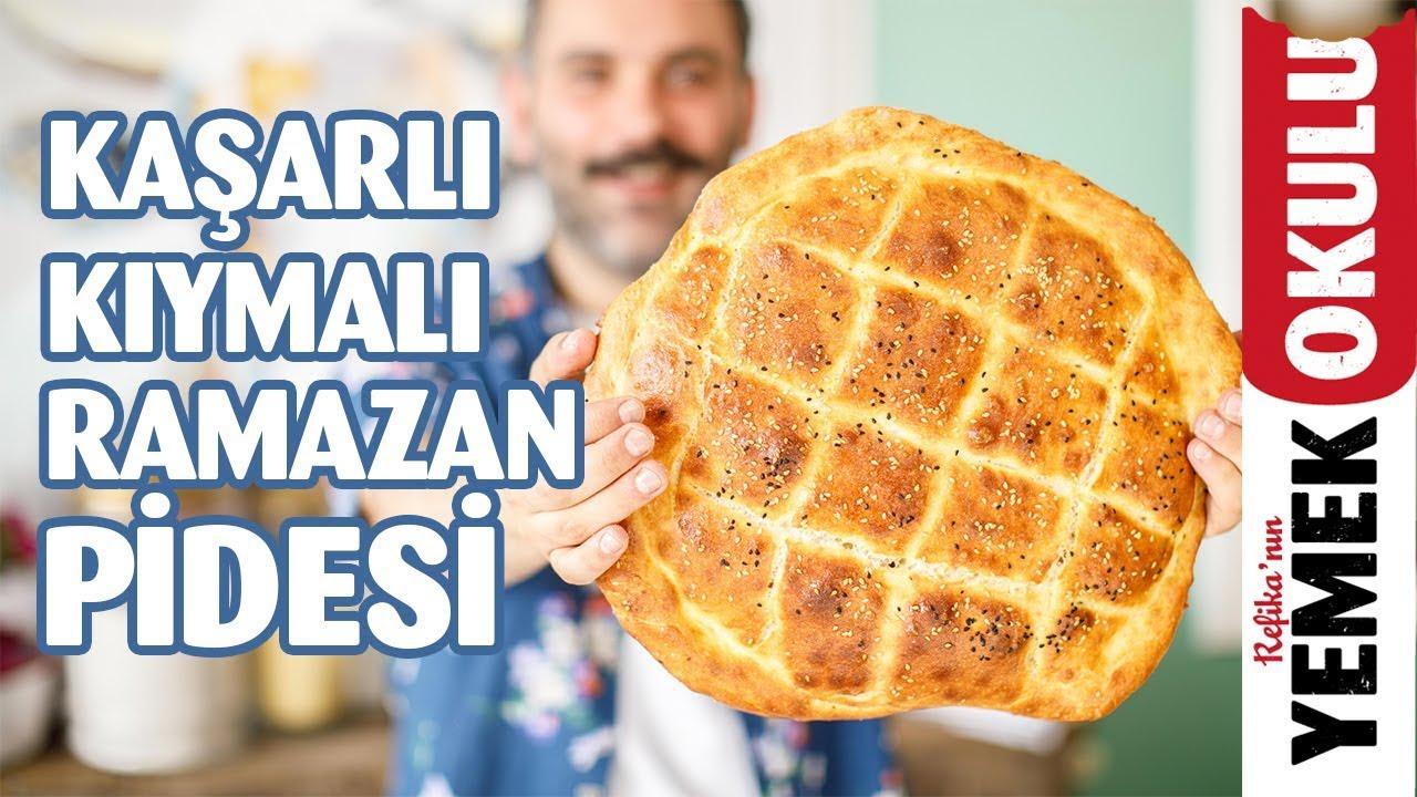 Kıymalı Kaşarlı Ramazan Pidesi Tarifi | Burak'ın Ekmek Teknesi