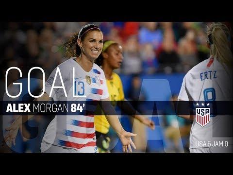 WNT vs. Jamaica: Alex Morgan Second Goal - Oct. 14, 2018