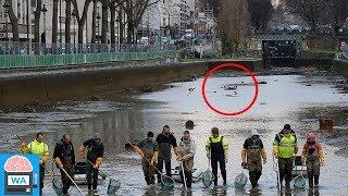 Dieser Kanal wurde nach 15 Jahren trockengelegt. Was am Boden gefunden wurde, ist unglaublich!