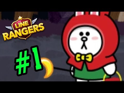 Line Rangers Game Mobile Android #1 - Cô Bé Quàng Khăng Đỏ