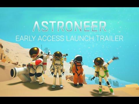 Пробная бесплатная версия игры Astroneer стала доступна на Xbox One