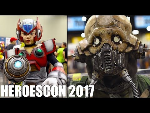 HeroesCon 2017 Cosplay Video