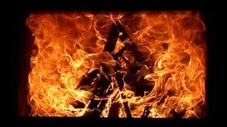 Огонь в каминной топке Жарко Аир(, 2013-08-21T09:28:02.000Z)