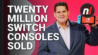 Nintendo Has Sold 19.67 Million Switch Consoles to Date