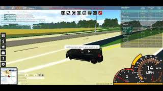 Roblox ultimate driving how to go on the highway toll for free! (no gamepass needed or no cash