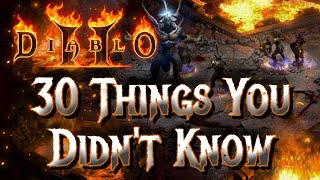 30 Things You Didn't Know About Diablo 2 - Xtimus
