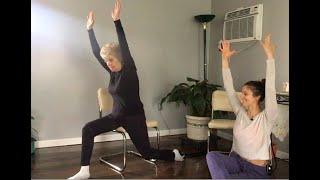 Dynamic Chair Yoga